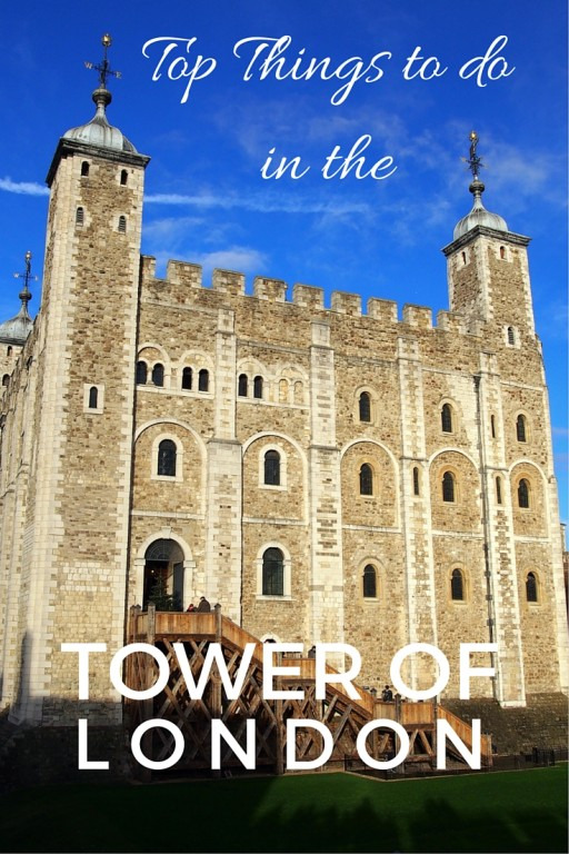 Tower of London with kids