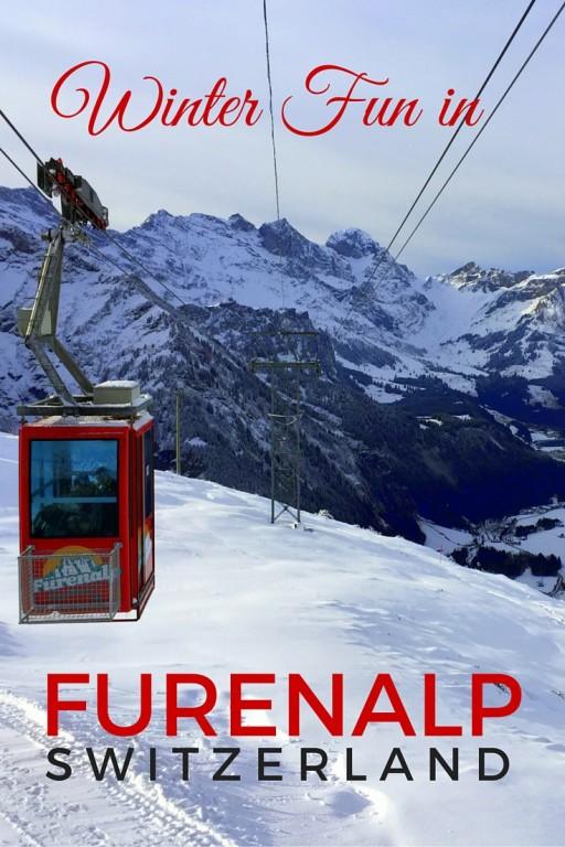 Winter in Furenalp Switzerland