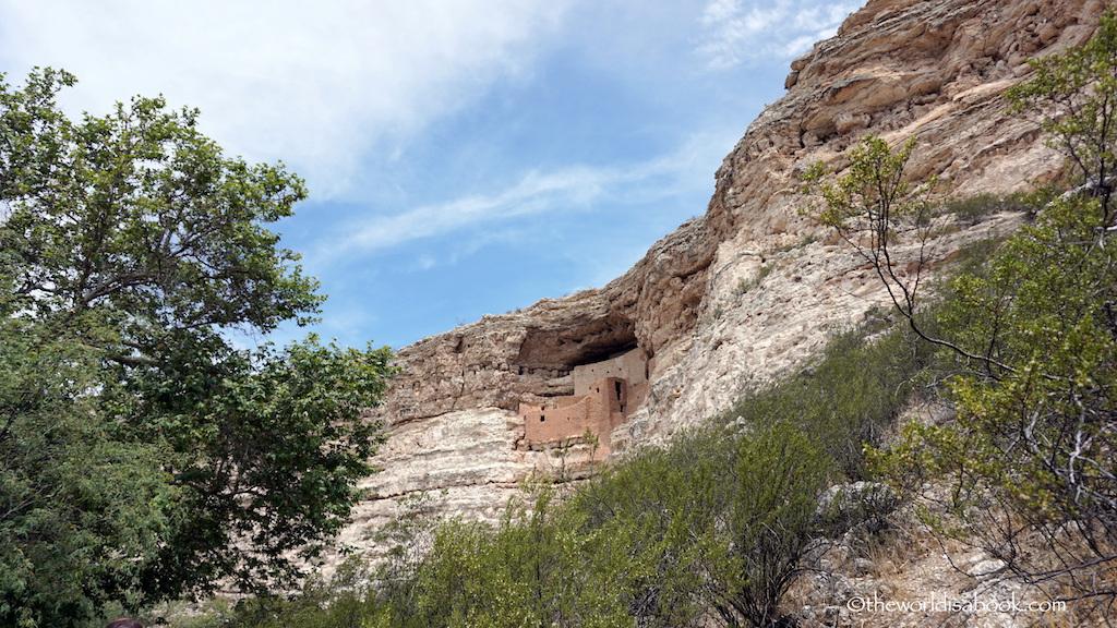 Montezuma Castle view
