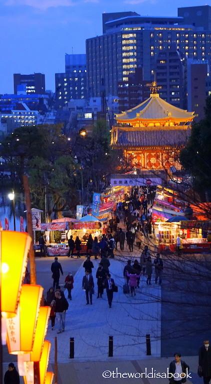Ueno Park Bentendo Temple