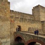 Exploring Castelo de Sao Jorge Lisbon