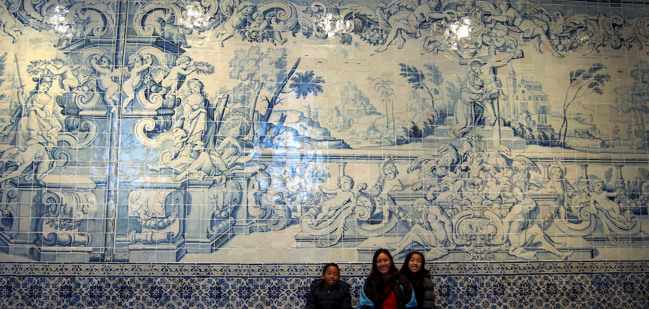 Lisbon with kids Tile Museum