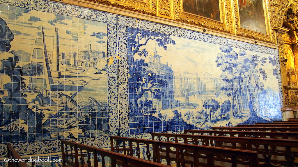 Madere de Deus church Tile Museum Lisbon