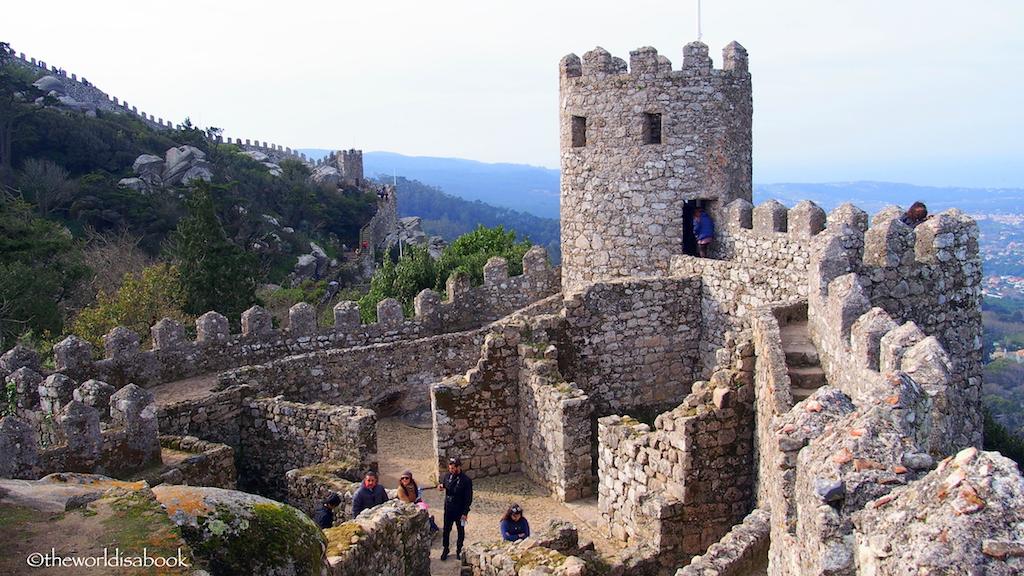 Castelo dos Mouros or The Moors Castle walls