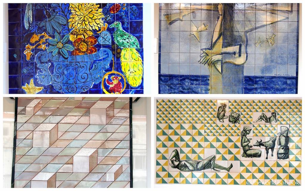 Tile Museum Lisbon contemporary art