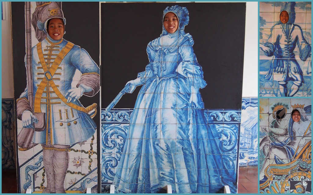 Tile Museum cutouts Lisbon