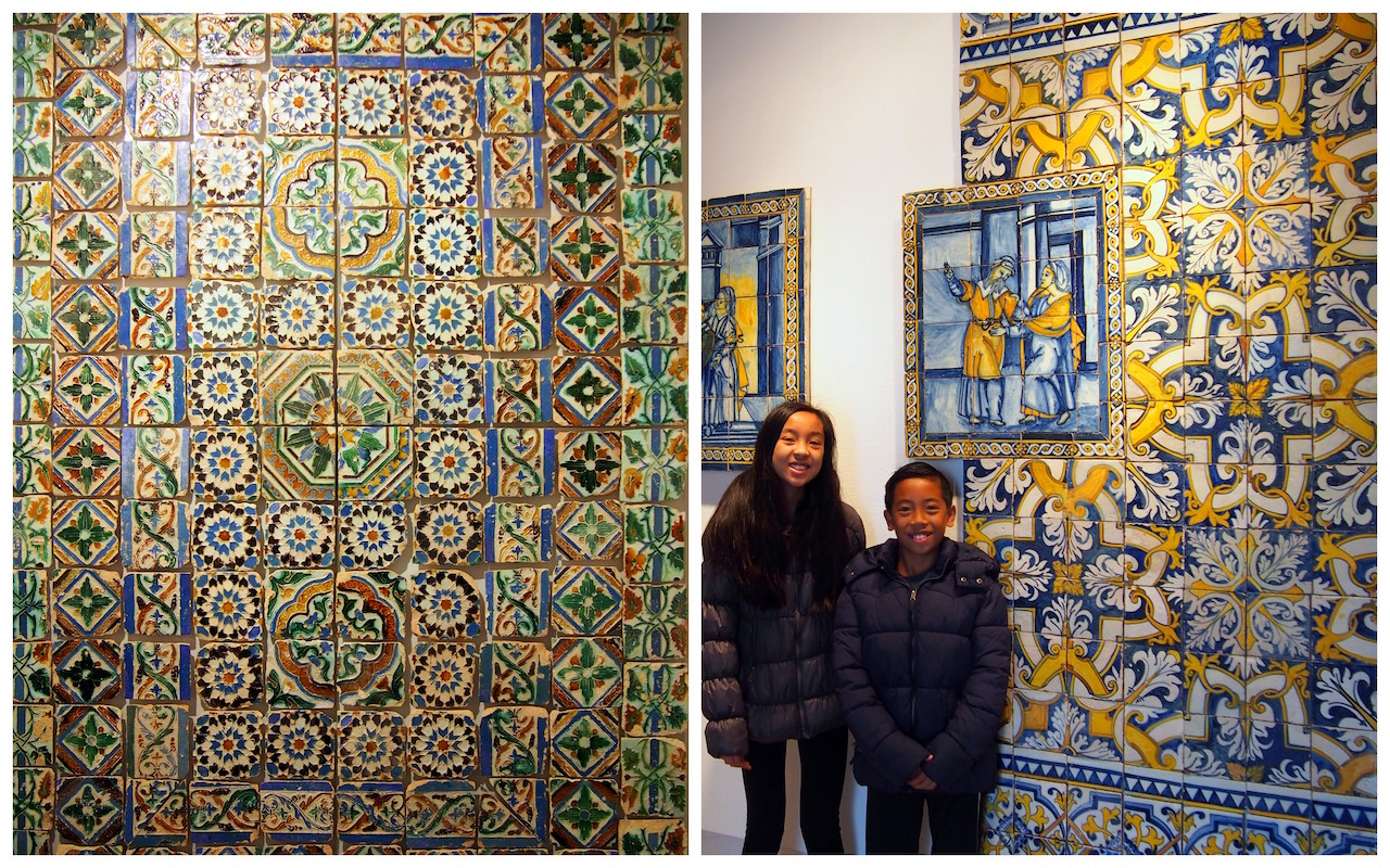 Tile Museum with kids Lisbon