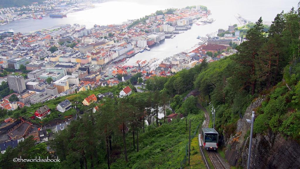 FLOIBASEN FUNICULAR Bergen Norway