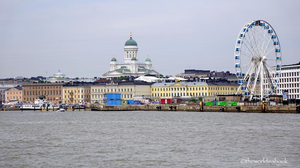 Helsinki Finland skyline