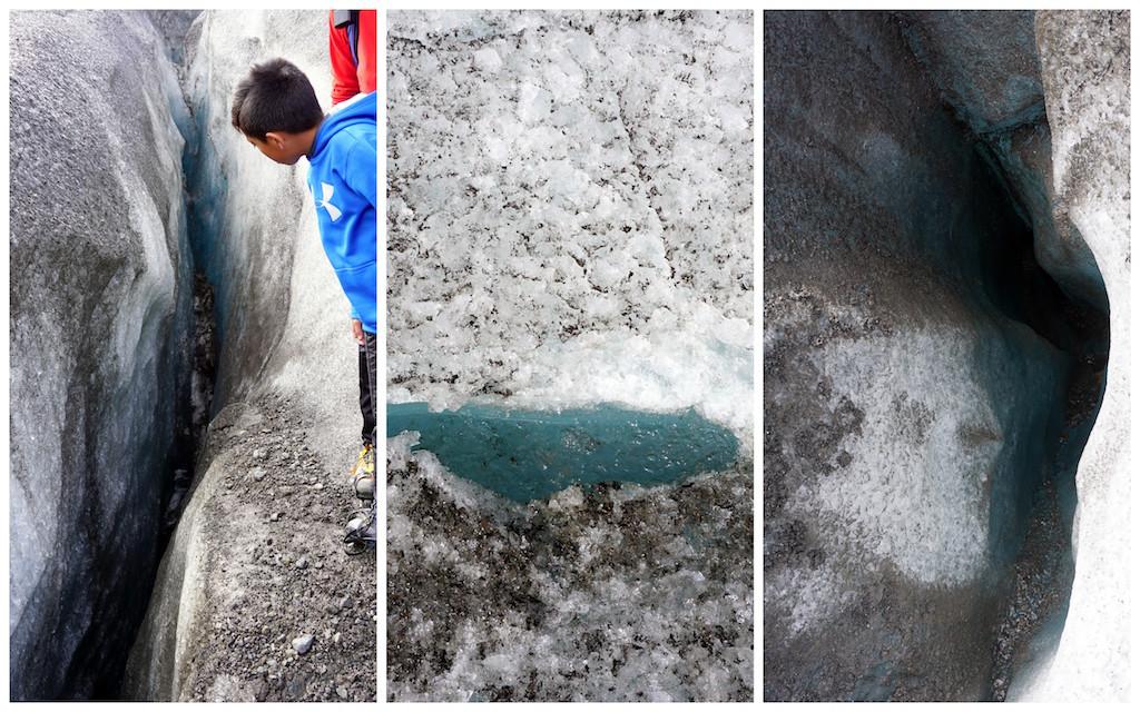 Iceland Glacier Hike blue