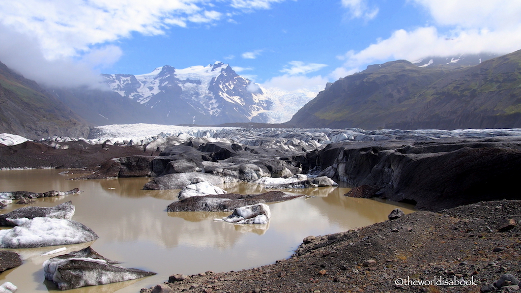 Svinafellsjokull Glacier Tongue Iceland
