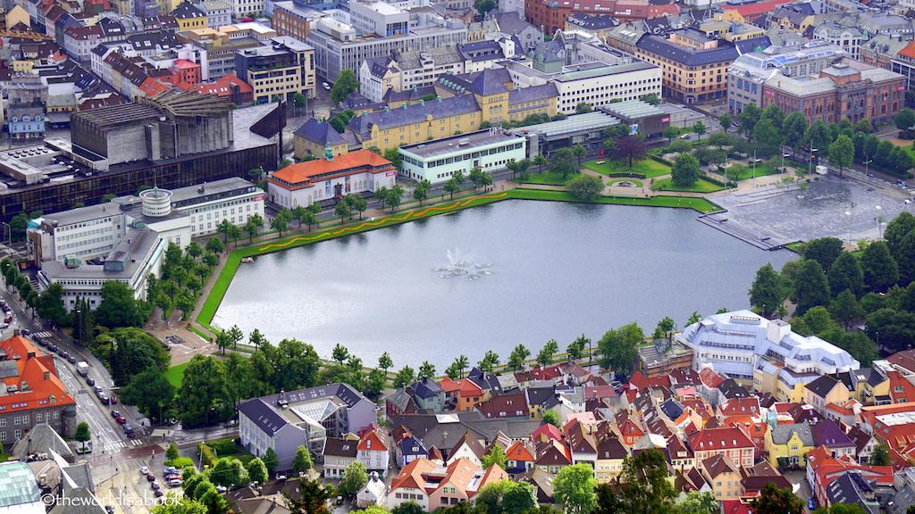 Lille Lungegårdsvann Bergen