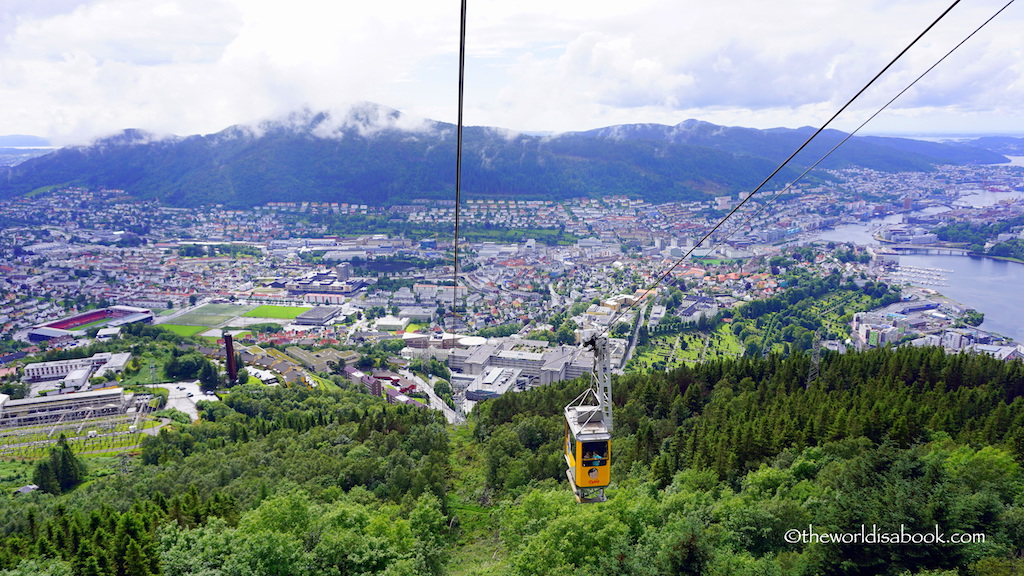 Mount Ulriken cable car