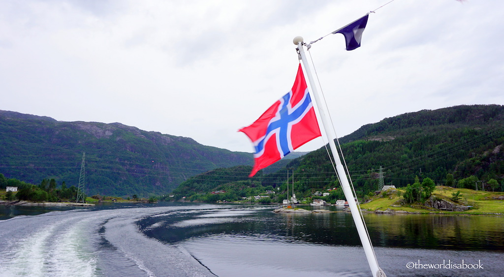bergen to osterfjord cruise