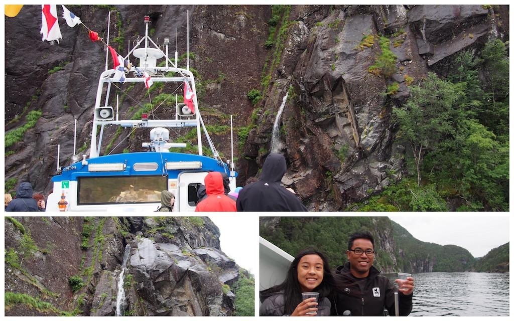 heskjedal waterfall norway