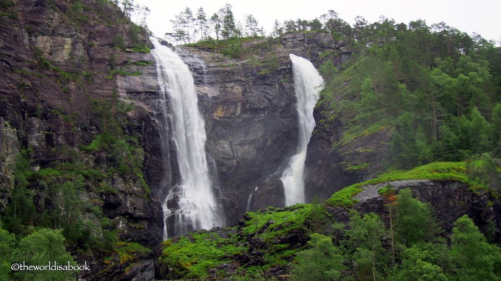 Heskjedalsfossen Waterfall Norway