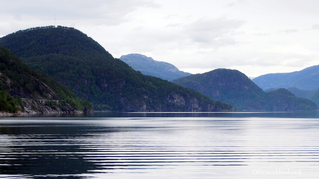 Osterfjord cruise from bergen