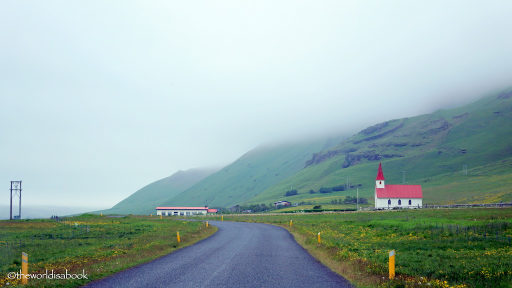 iceland road to reynisfjara