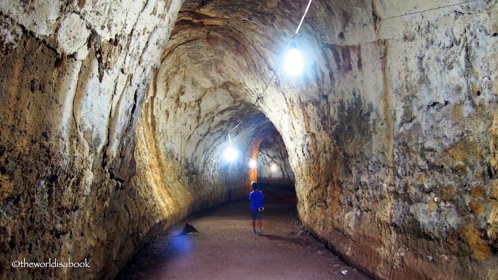 Santa Cruz Galapagos lava tunnel