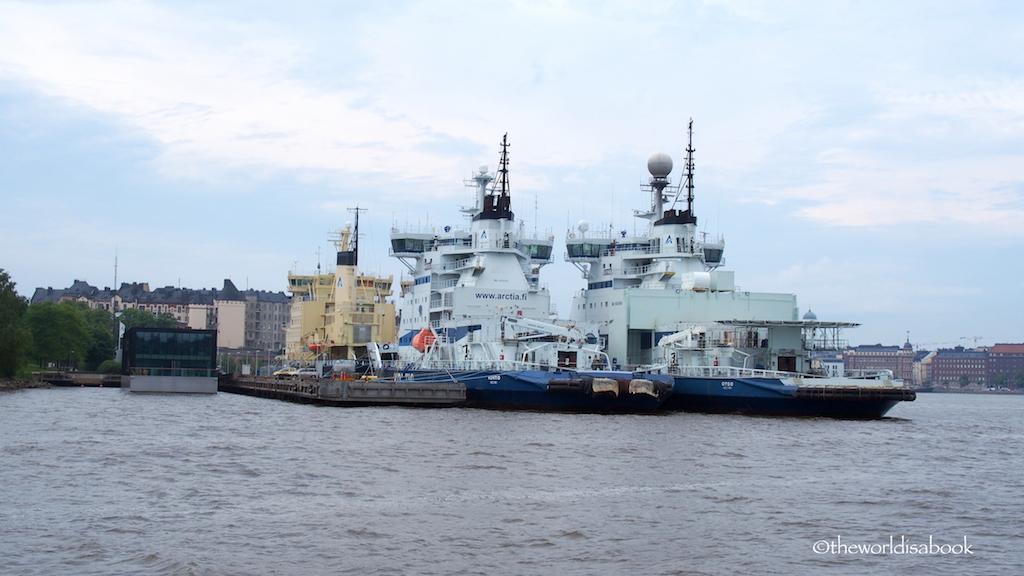 HELSINKI Icebreakers