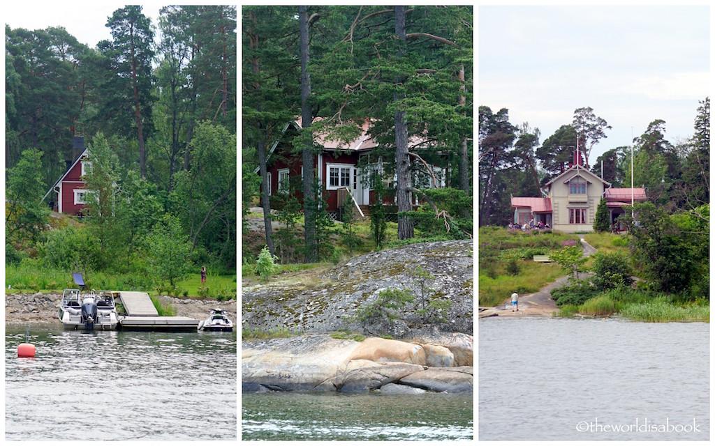 Helsinki archipelago cottages