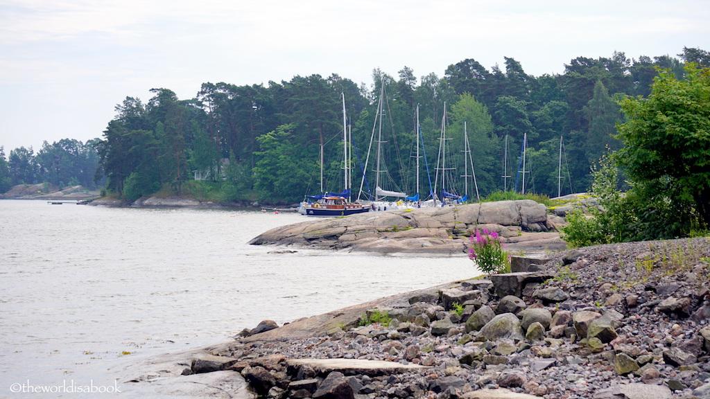 Helsinki shoreline