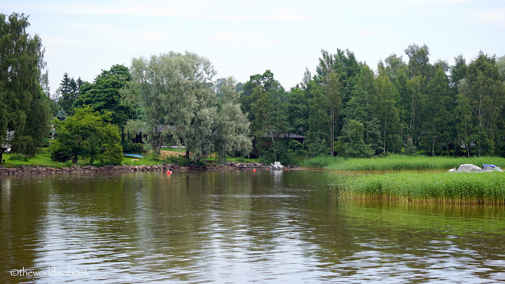 Helsinki sightseeing cruise park