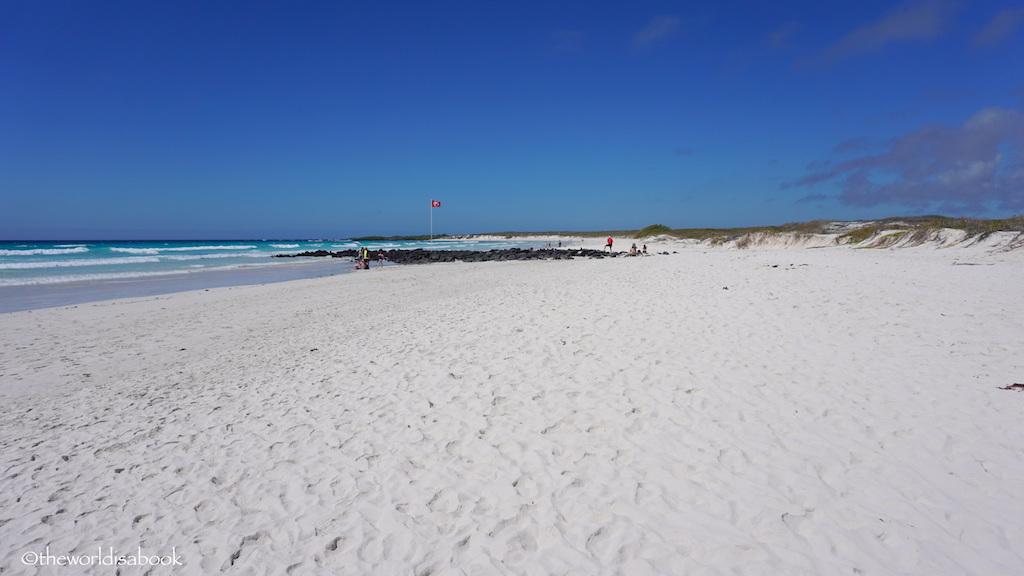 Playa Brava Tortuga Bay Galapagos