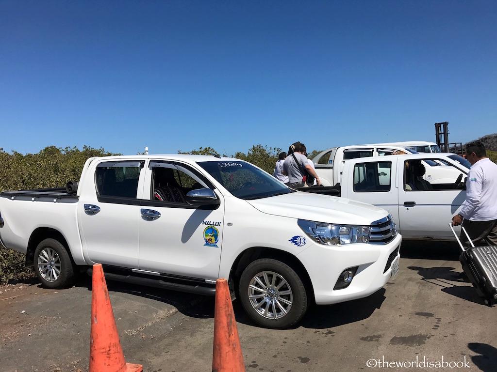 Galapagos Puerto Ayora taxis