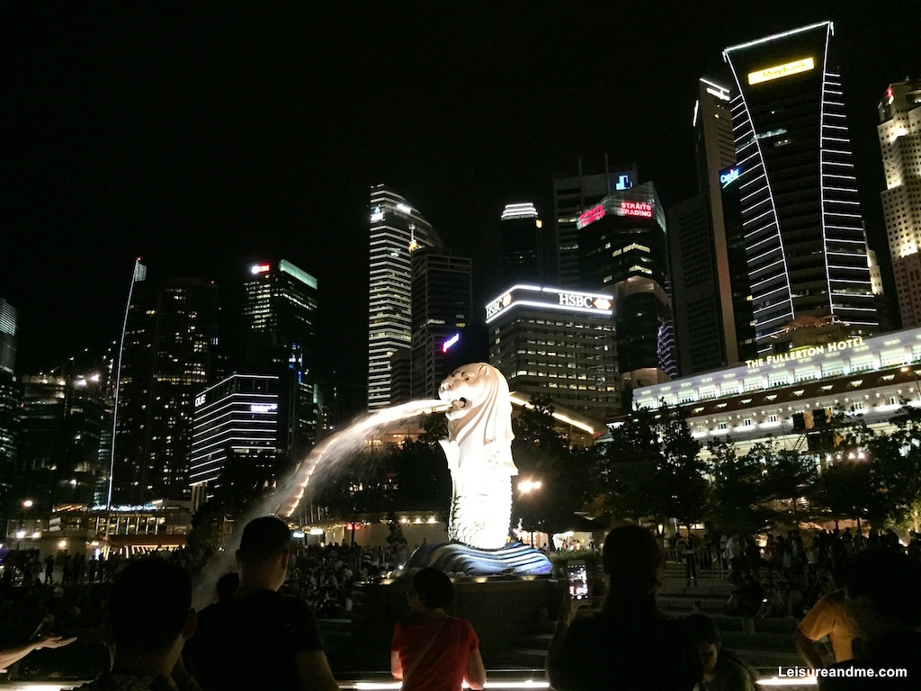 Merlion Marina Bay walk
