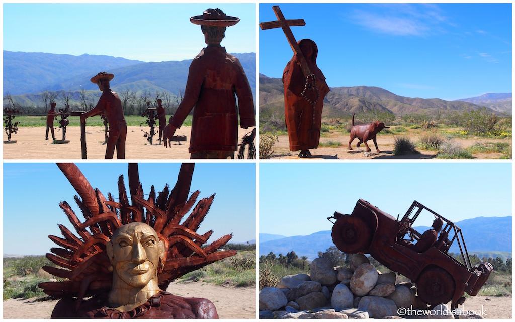 Borrego Springs Metal Art