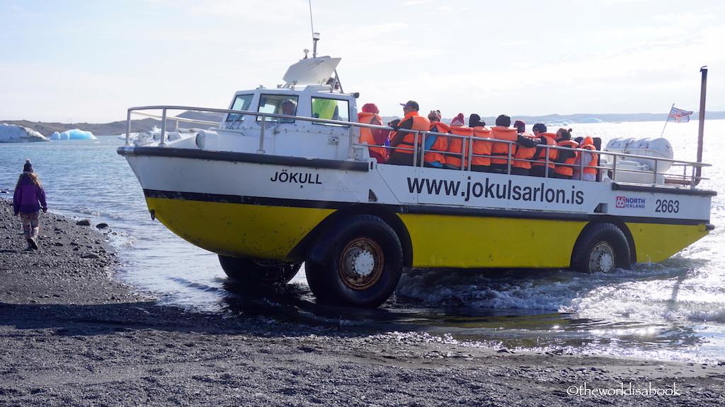 Zodiac Boat Tour On Jokulsarlon Glacier Lagoon Iceland The World
