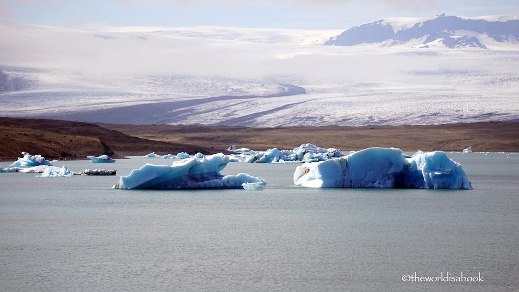 Jokulsarlon Glacier Lagoon lookout