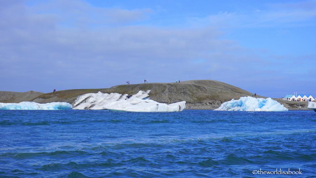 Jokulsarlon Glacier Lagoon shore