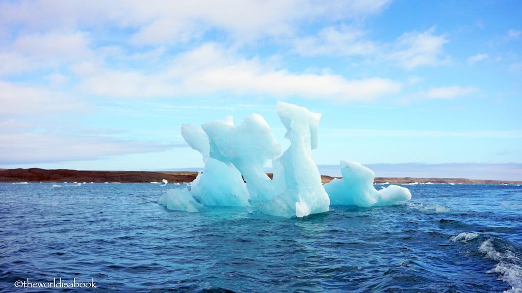 Jokulsarlon ice tower