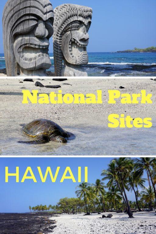 National Park Sites BIG ISLAND Hawaii