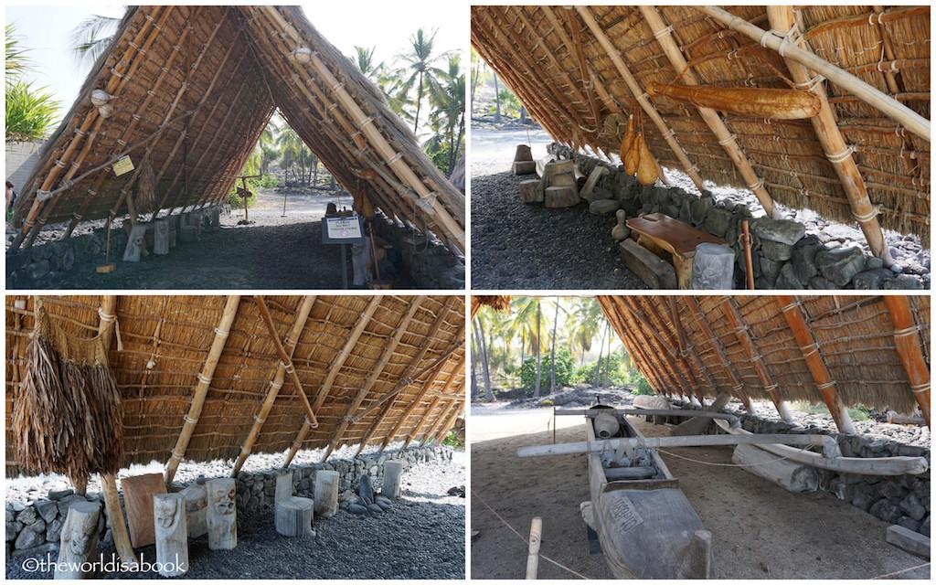 Puʻuhonua o Hōnaunau National Historical Park house