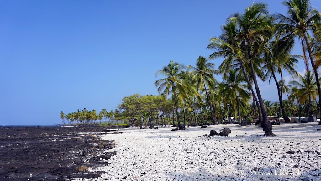 Puuhonua o Honaunau National Historic Park beach