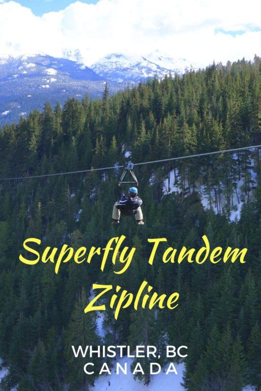 Superfly Tandem Zipline