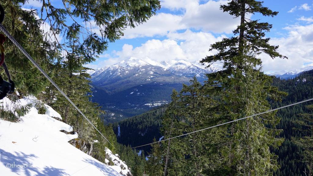 Superfly Zip line Whistler