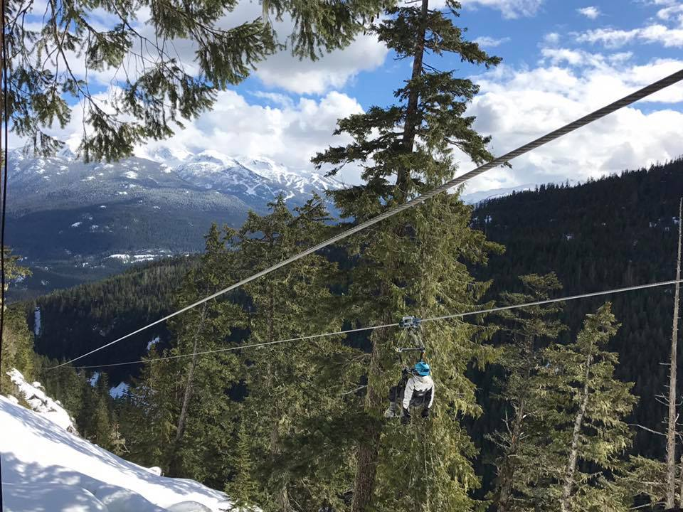 Whistler Superfly Zip Line With Kids