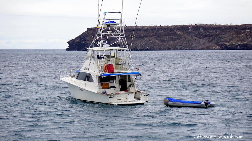 Cruise to North Seymour Island Galapagos