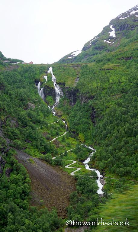Flam Railway Rallarvegen road