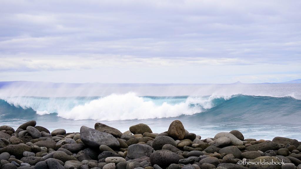 North Seymour Island beach Galapagos