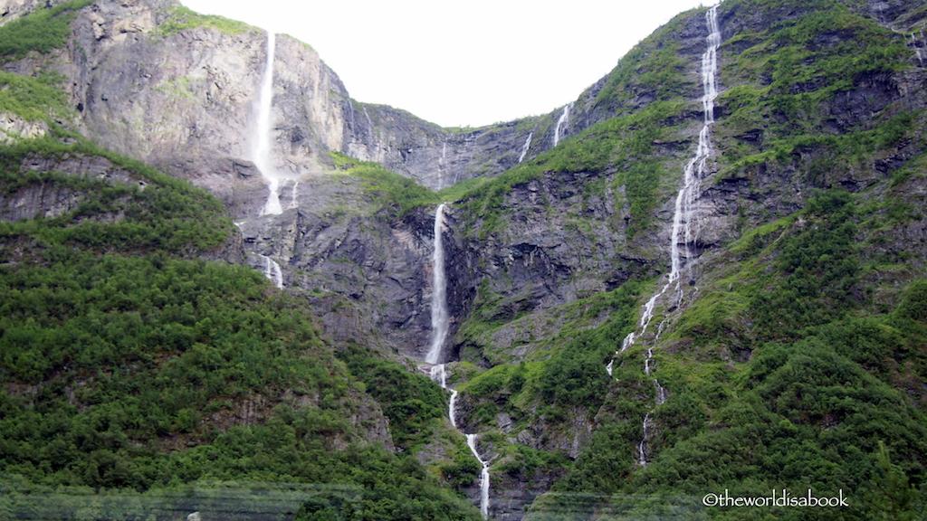 Norway in a Nutshell Gudvangen waterfalls