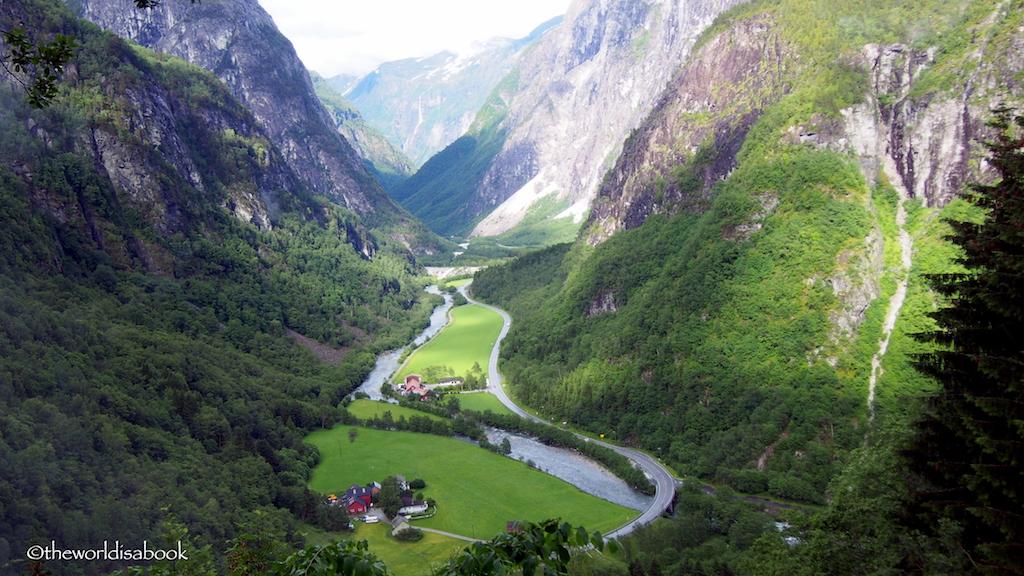 Norway in a Nutshell Stalheimskleiva road