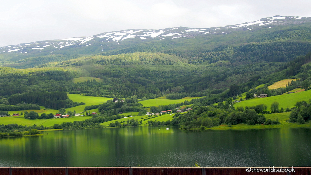Norway in a Nutshell Voss from train