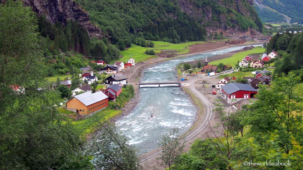 Norway In a Nutshell Flam Railway village