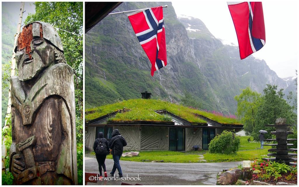 Norway in a Nutshell Gudvangen viking