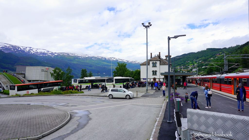 Voss train station Norway In a Nutshell